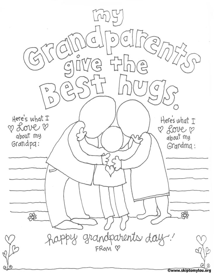 53 best grandparent 39 s day at school what to do images on for Coloring pages for grandparents