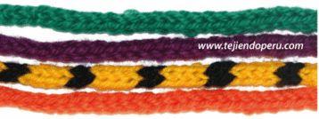 Instrucciones para tejer estos icord o cordones tubulares en crochet !  Quedan como tejidos en dos agujas o palillos!!
