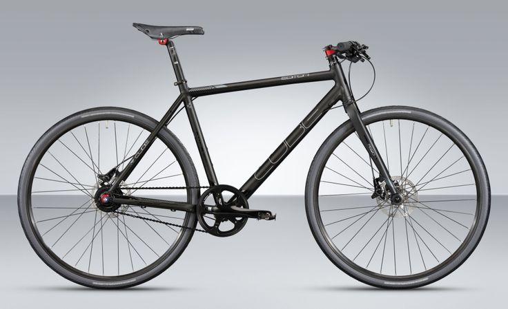 cube editor puristisches urban bike mit alfine 11. Black Bedroom Furniture Sets. Home Design Ideas