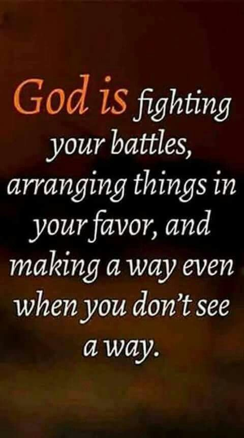 """Deuteronomy 1:30 """"The Lord your God who goes before you will himself fight for you..."""""""
