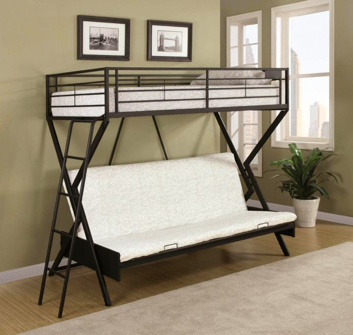 1000 Ideas About Industrial Bunk Beds On Pinterest Bunk