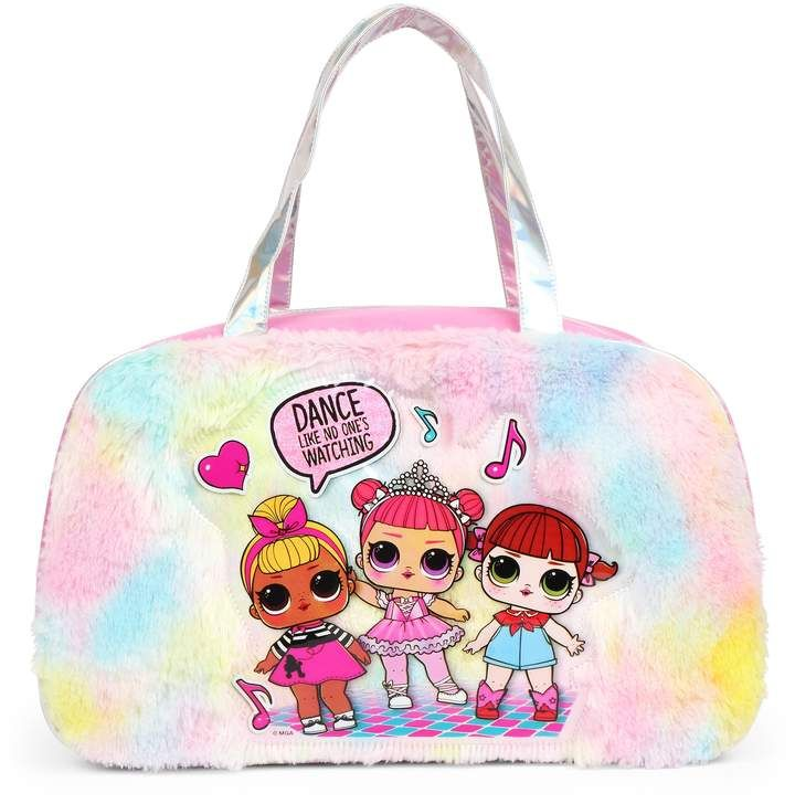 Kinder LOL Surprise Fuzzy Duffle Bag   – Kids Outfit Fashion