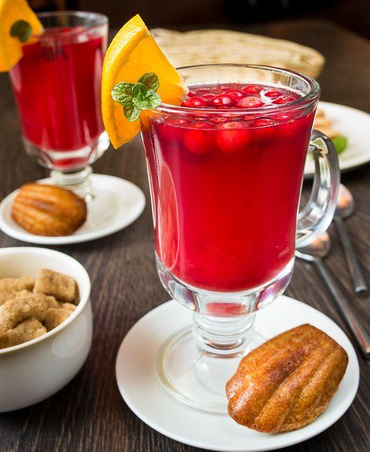 Горячий клюквенный напиток   Вкусный блог - рецепты под настроение