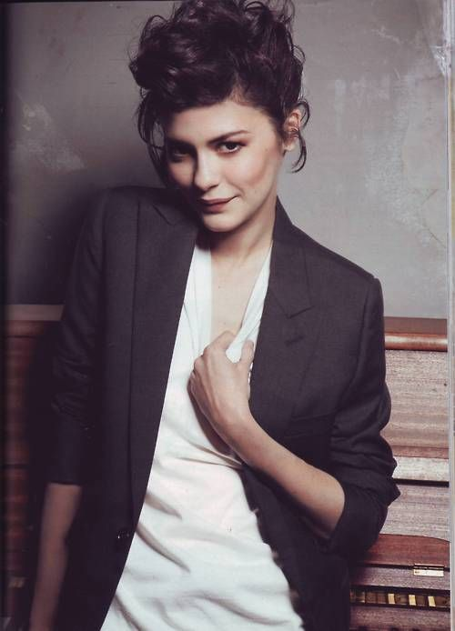 Need a few more nice blazers. Audrey Tautou