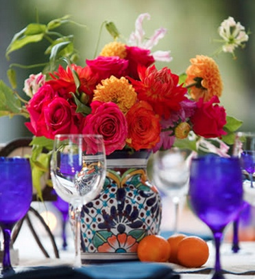 mexican vase omg perfect mexican weddingsmexican wedding decorationsspanish