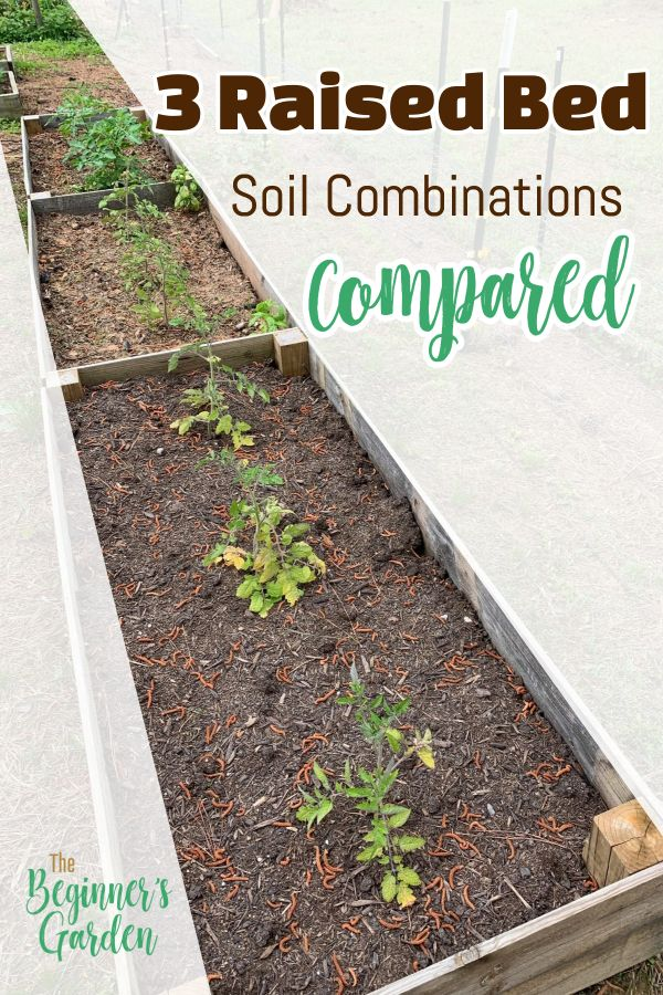 3 Raised Bed Soil Mixes Compared Watering Raised Garden Beds