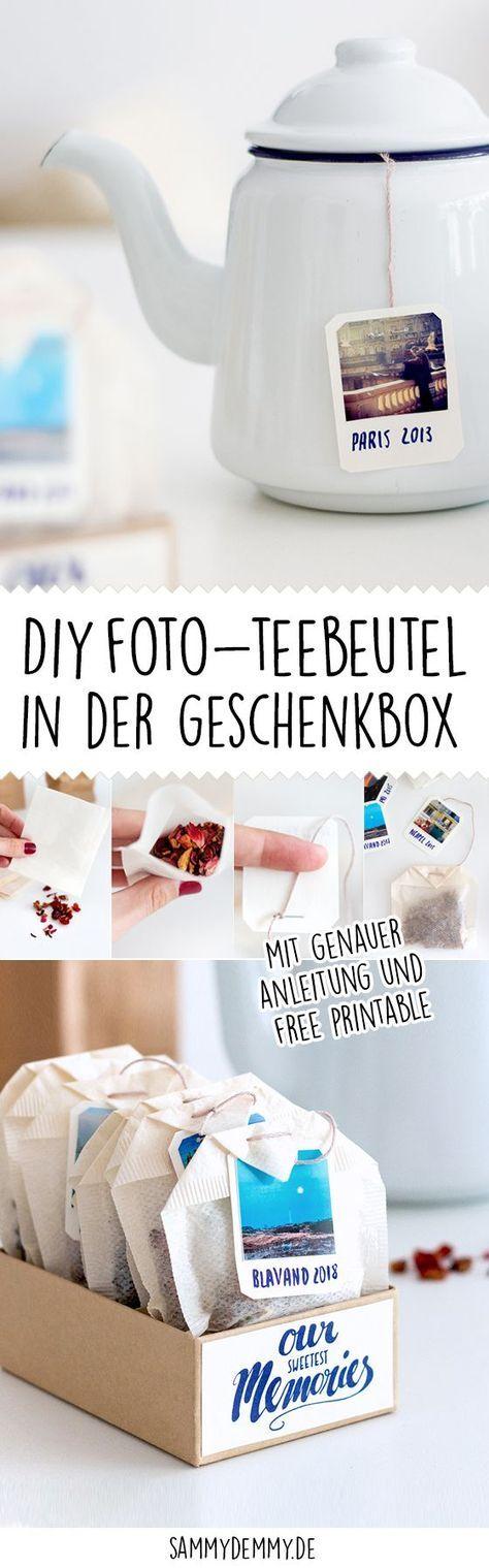 DIY Tasse und Teebeutel als Foto-Geschenk – Helga Wrona-Krutz