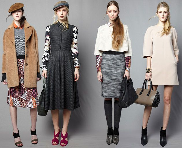 Trina Turk Fall/Winter 2014-2015 Collection – New York Fashion Week