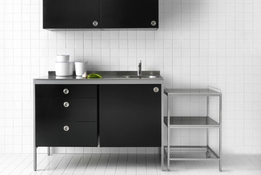 1000 ideas about ikea kitchen units on pinterest gray kitchen cabinets black countertops and. Black Bedroom Furniture Sets. Home Design Ideas