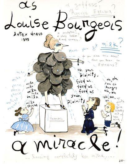 Mrs. Tependris, Louise Bourgeois, Konstantin Kaknias  - http://www.collectista.com/interview-konstantin-kakanias/#.UwuxzPRdUkE