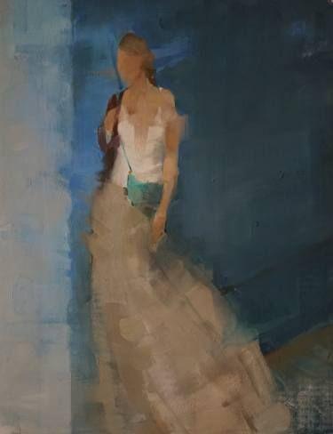 "Saatchi Art Artist Fanny Nushka Moreaux; Painting, ""DB, 2015"" #art"