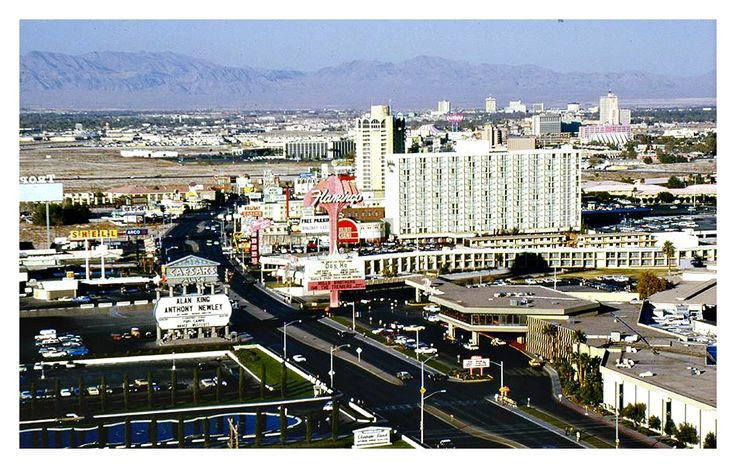 Las Vegas Strip in the 70's — with Anthony Newley, Alan King, Caesars Palace, Don Ho and Flamingo Las Vegas Hotel & Casino.