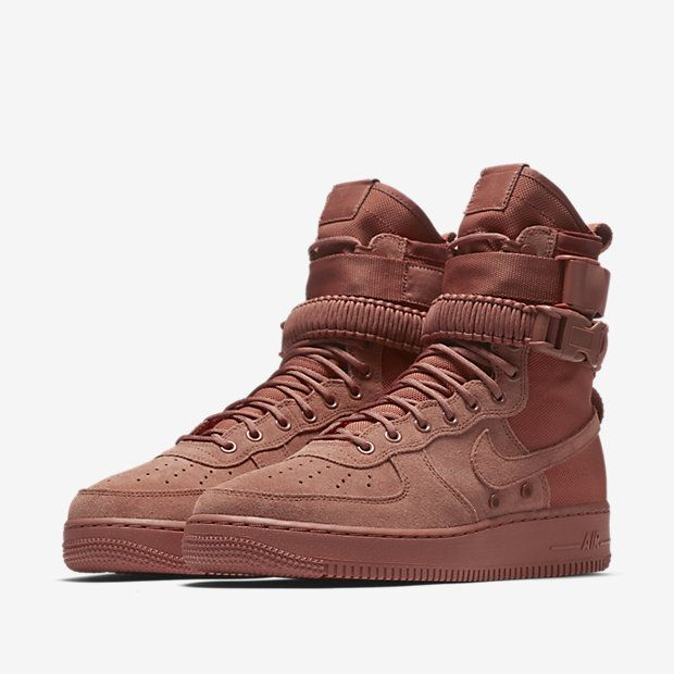 1 Air Force High Dusty Peach Sf Nike SuedeSneakers w8k0OPnX