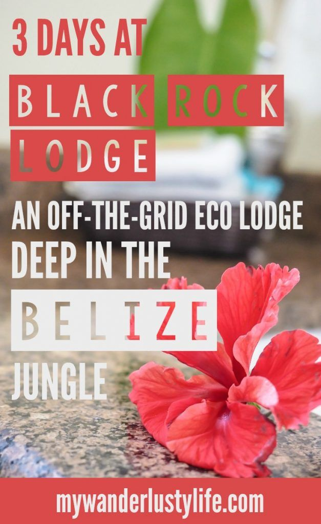 Spending 3 days at the Black Rock Lodge outside San Ignacio, Belize. BRL is a completely off-the-grid eco lodge deep in the Belizean jungle smack dab on the Macal River. Fantastic food and views, colorful wildlife, and the sounds of howler monkeys in the dark--this place is pure paradise.
