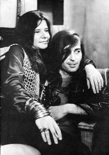 Janis Joplin and Sam Andrew of Big Brother and the Holding Company