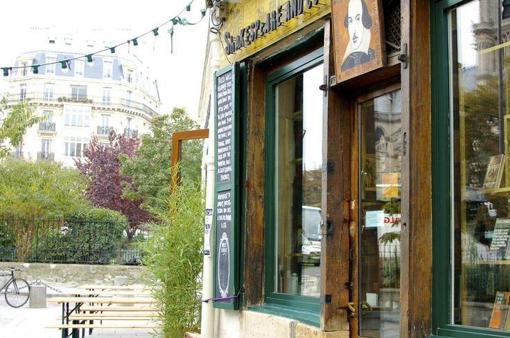 HiP Paris Blog. Shakespeare & Company Café. Where Whitman's piece of the story began.
