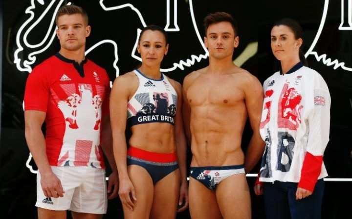 Team GB unveil their kit for the 2016 Rio Olympics