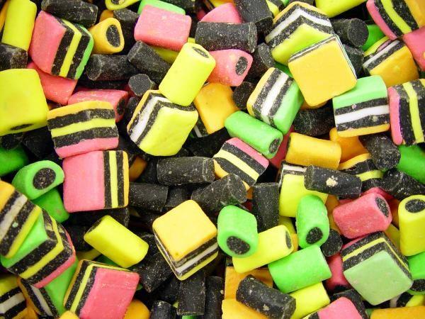Liquorice sweets