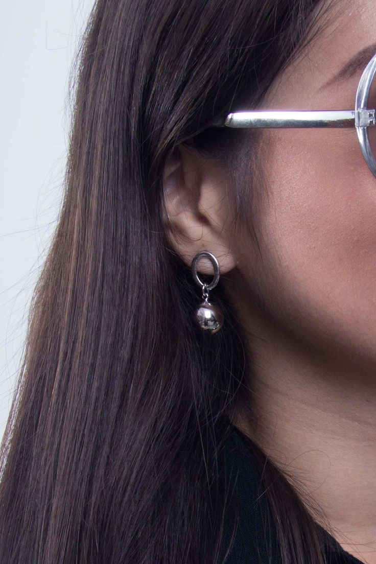 Elegant and Timeless | Silver Earrings | Scandinavian Style