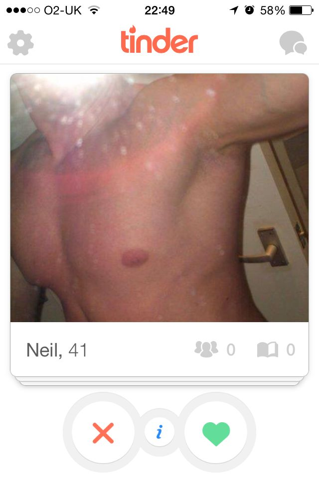Not toned enough I am afraid Neil, come back in a few months with a torso which worth the showing