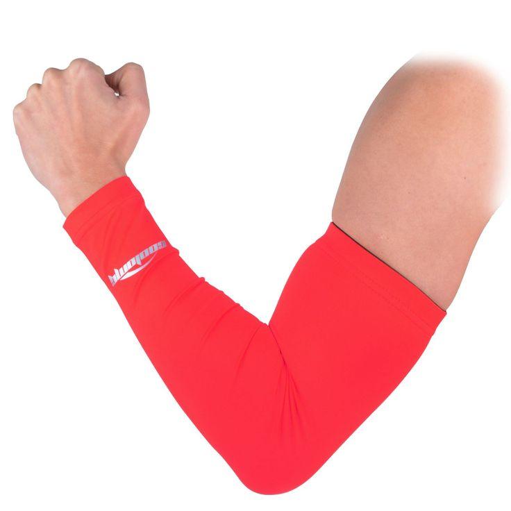 COOLOMG Anti-UV Armschoner Unterarmschuetzer für Erwachsene Kinder Basketball Power Shootor XS-XL 1 Stück: Amazon.de: Sport & Freizeit