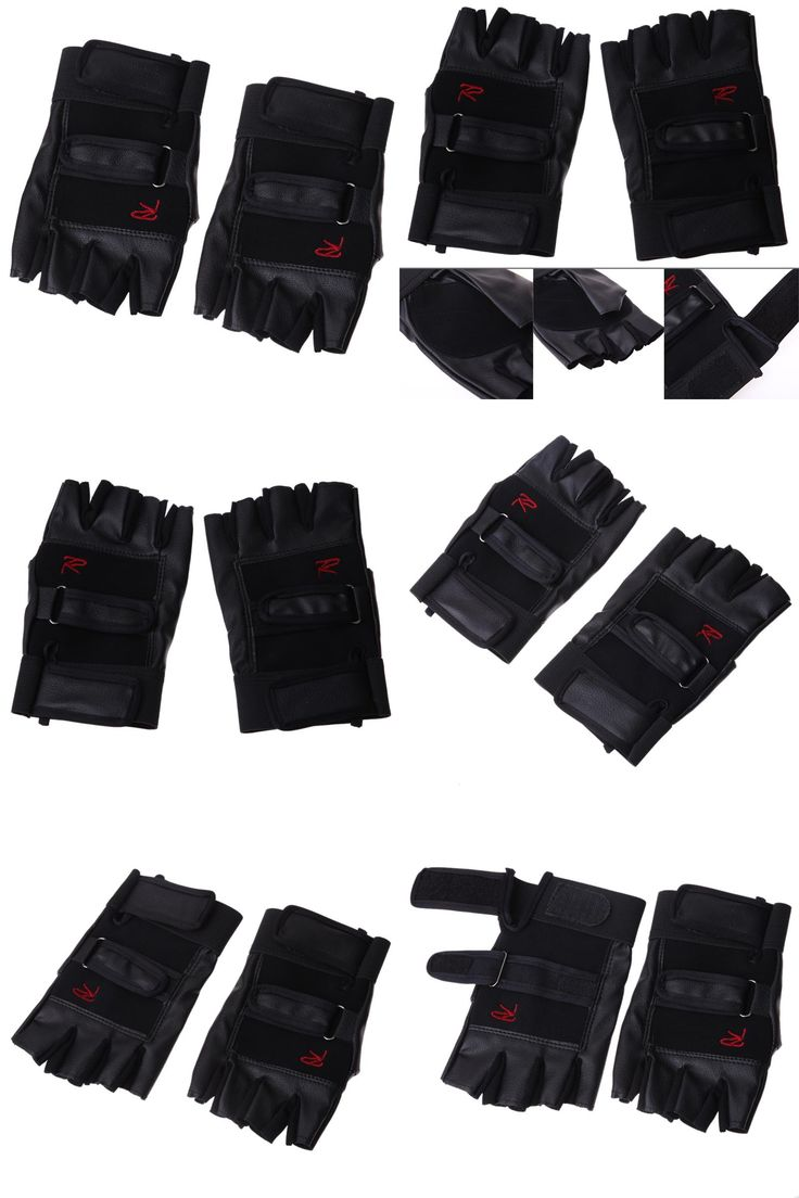 Icon justice leather motorcycle gloves -  Visit To Buy Pro Weight Lifting Gym Cycling Gloves Exercise Sport Fitness Sports Bike
