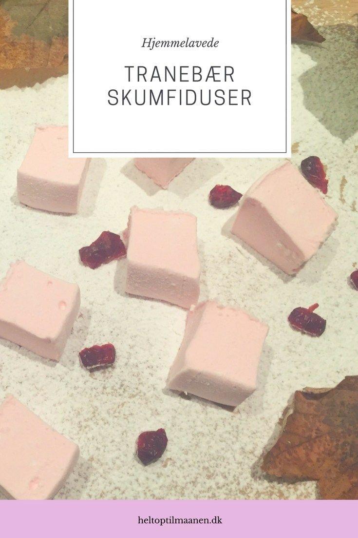 Tranebær Skumfiduser