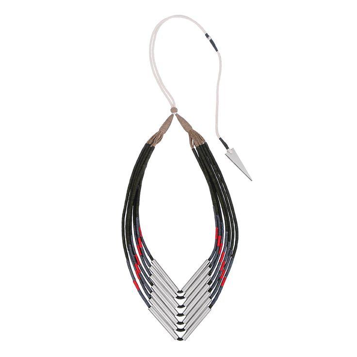 En Inde Necklace #fashion #jewellery #necklace #accessories #valerydemure [discover more at www.valerydemure.com]