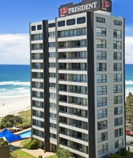 President Apartments - Surfers Paradise Holiday Apartments - 4 Bedroom Apartment Surfers Paradise