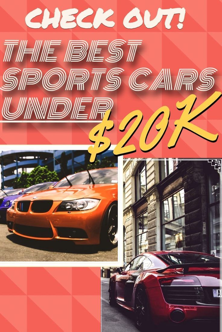 The Best Sports Cars For Under 20K Used sports cars