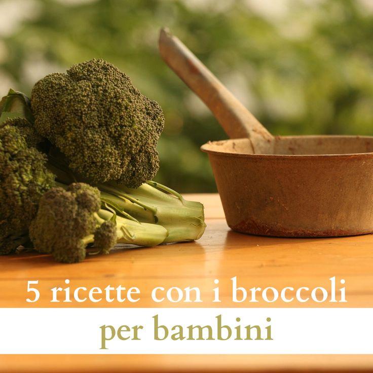 5 ricette con i broccoli per bambini