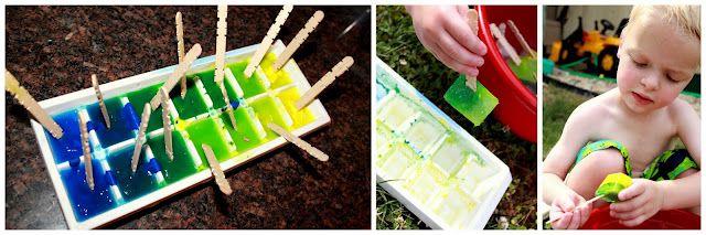 Frozen Paint!: Craft, Ice Cubes, Cubes Painting, Ice Cube Painting, Art Frozen Painting, Paint Cubes, Classroom Ideas, Kid