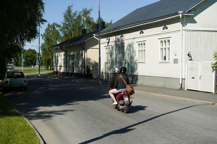 Siltapuistonkatu Pori Finland