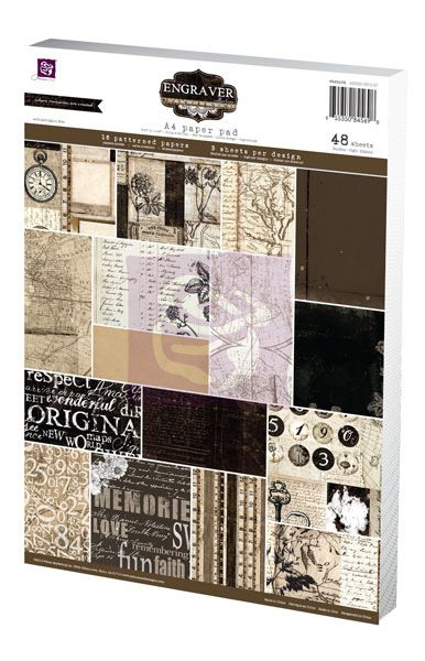 Prima - Engraver - pad A4