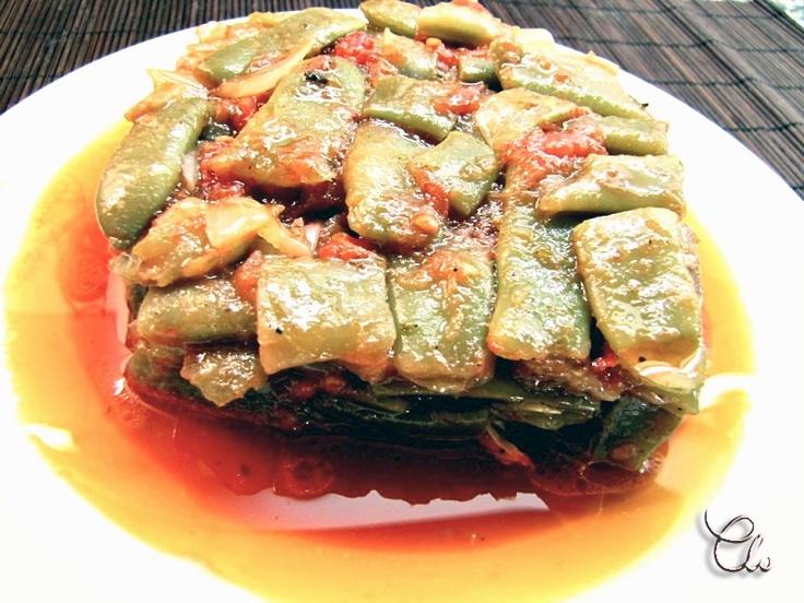 LA COCINA DE MI CASA: Judías verdes picantes