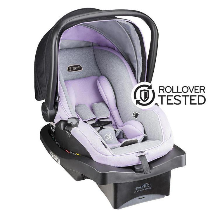 Evenflo Platinum LiteMax 35 Infant Car Seat - Sadie Spring - http://baby.goshoppins.com/safety-seats/evenflo-platinum-litemax-35-infant-car-seat-sadie-spring/