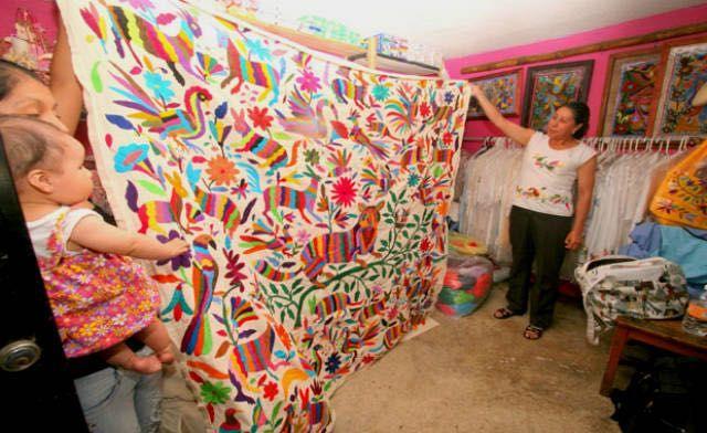 Los colores de Tenango Hidalgo, un talento des-bordado