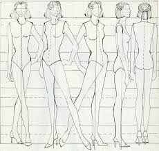 """Résultat de recherche d'images pour """"moda tasarım manken çizimi"""""""