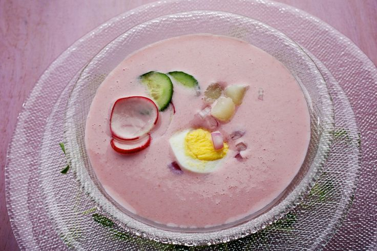 Chilled Radish Soup | Recipe | Posts, Washington and Soups