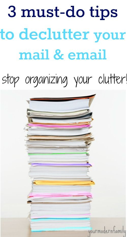 LOVE this de-cluttering series  tips.    I need to remember this one for mail and paperwork.