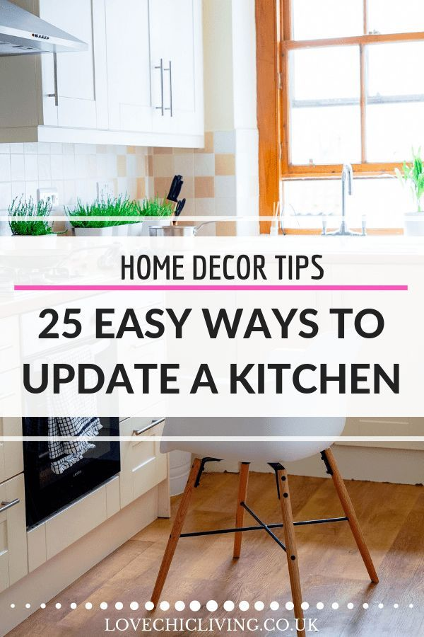 25 Easy Kitchen Updates for a Fresh, Summer Feel | Home ...