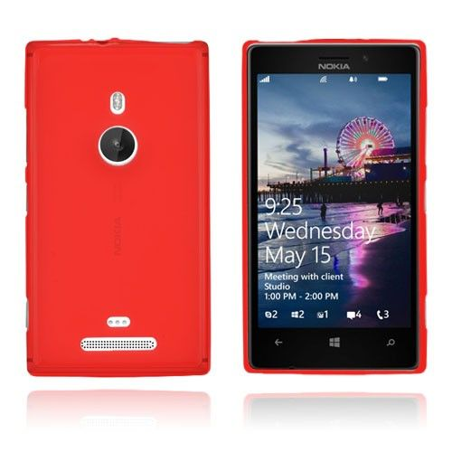 GelCase (Rød) Nokia Lumia 925 Deksel