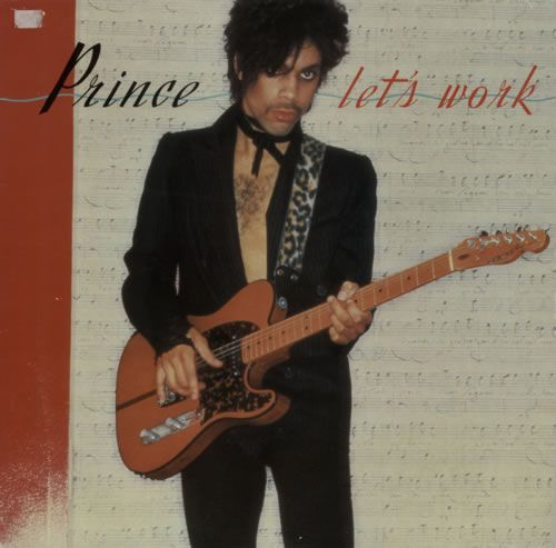 """For Sale - Prince Let's Work - EX UK 12"""" vinyl single (12 inch record / Maxi-single) - See this and 250,000 other rare & vintage vinyl records, singles, LPs & CDs at http://eil.com"""