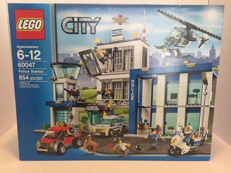 Lego City Police Station 60047 New SEALED Motorcycle Helicopter Cops Crooks Jail 5702014780347 | eBay