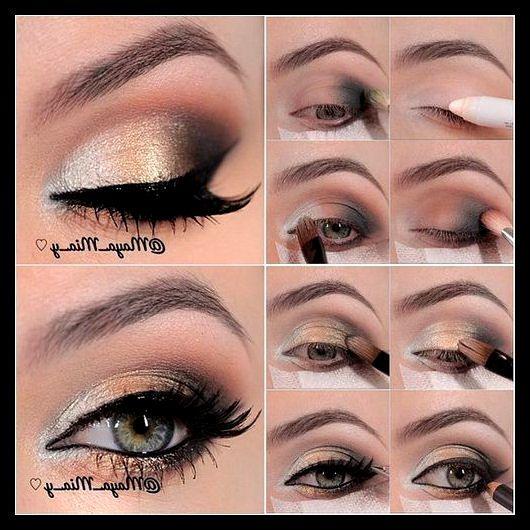 #make-up #tutorial #eyeshadow  Door dit stappenplan te volgen, kunnen leerlingen goed zien hoe ze een mooie oogschaduw kunnen creëren.
