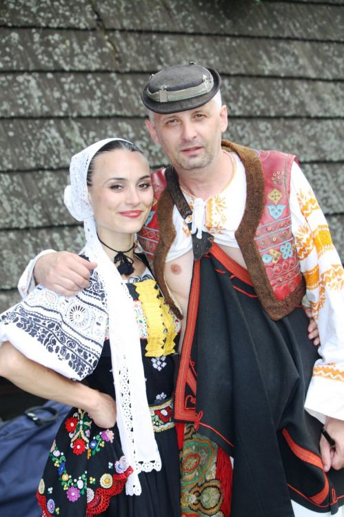 """slovak-folk-costumes: """" Detva town, Podpoľanie region, Central Slovakia. """""""