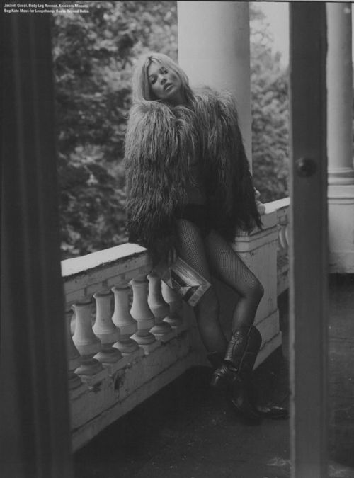 Kultstatus | N E R O . E . B I A N C O | Kate Moss Fashion Editorial Fashion Styling