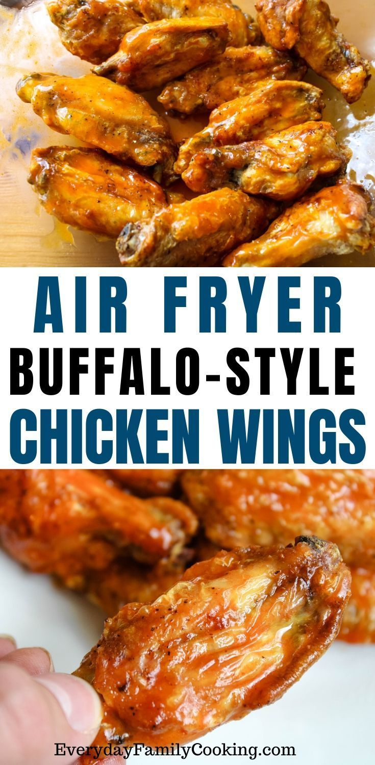 air fryer chicken wings with buffalo sauce recipe in 2020 hot wing sauces air fryer chicken air fryer chicken wings pinterest