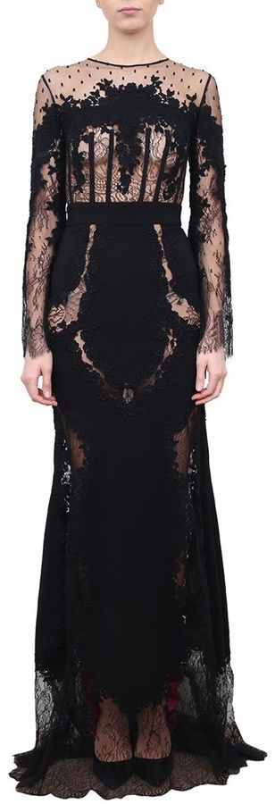 Zuhair Murad Lace And Tulle Dress