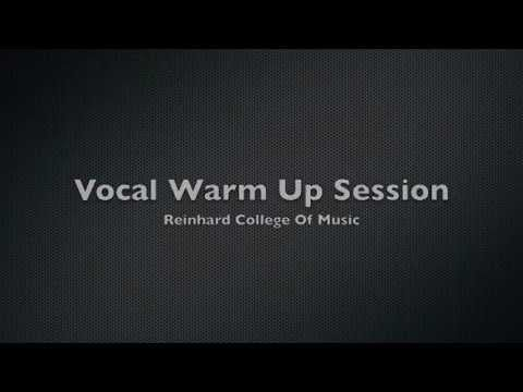 Vocal exercises to warm up and develop your voice. For more info visit http://www.reinhardcollege.ca. To buy these exercises as a digital download visit http://www.reinhard.ca/index.php?option=com_virtuemart=shop.browse_id=6=12